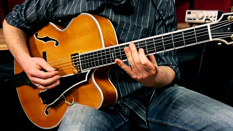 Sonntag J17X Archtop Jazz Guitar 'Blue in Green' Changes Jazz Ballad played by Andreas Schulz