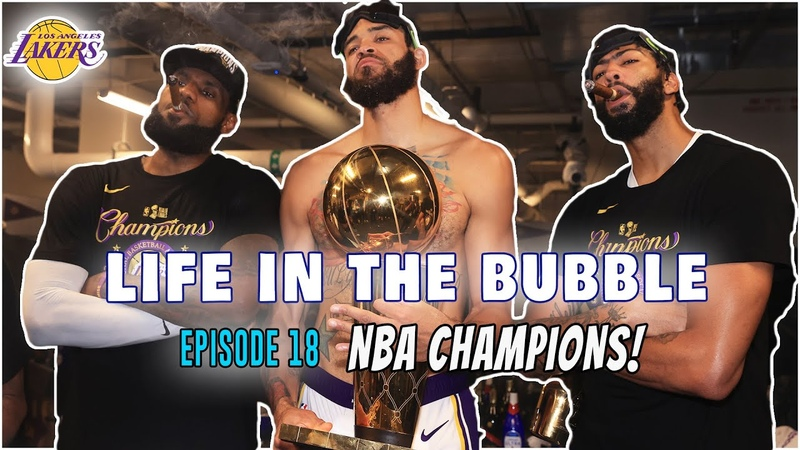 WE ARE NBA CHAMPIONS | Life in the Bubble - Ep. 18 (Season 1 Finale) JaVale McGee Vlogs