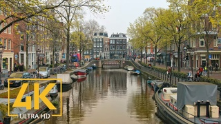 Trip to Amsterdam 4K, Netherlands - Travel Film with Music - European Cities