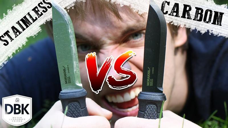 Mora Garberg Black VS Mora Garberg Stainless The most Popular Knife got an Upgrade