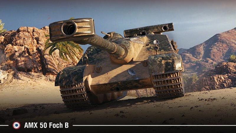 AMX 50 Foch B Разрыв Аэродрома 10574 dmg