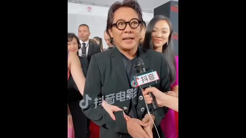 Джет Ли о Джейн и Джада Ли На премьере фильма Мулан