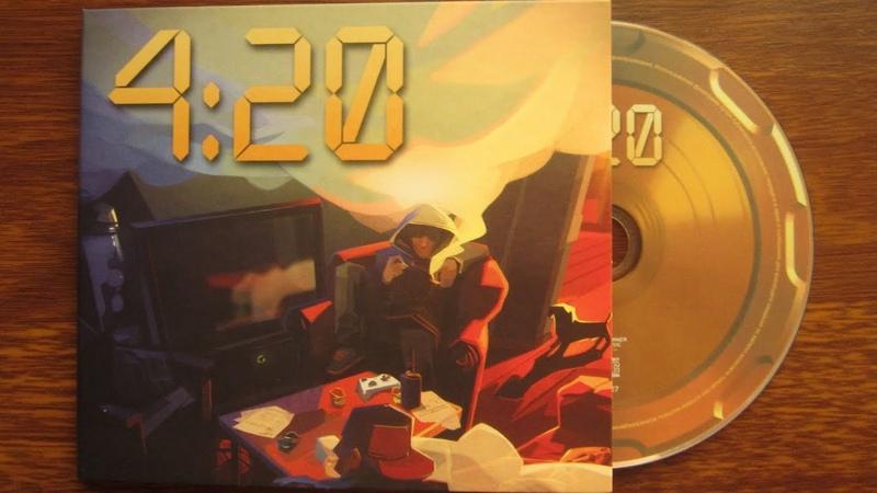 Guf Rigos - 4:20 / распаковка cd Digipak /
