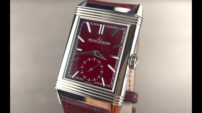 Jaeger LeCoultre Reverso Tribute Small Seconds Red Wine Dial Q397846J JLC Watch Review