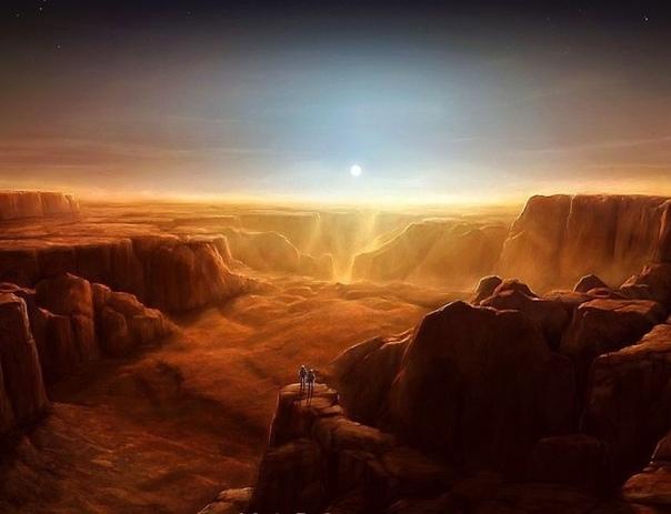 Последний марсианин Три недели на Марсе были безнадежно скучными. Астронавты, коих было двое, успели вдоволь насмотреться на руины древних городов и каналов, обыскали все, что можно было