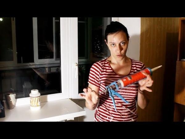 Как наклеить пластиковый уголок чтобы защитить Обои