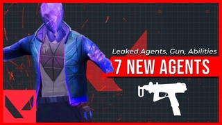 7 Leaked Valorant Agents, New Gun & Abilities (Joule, Clay, Shatter)   Valorant #1