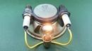 Генератор бесплатного электричества 12В из магнита своими руками.