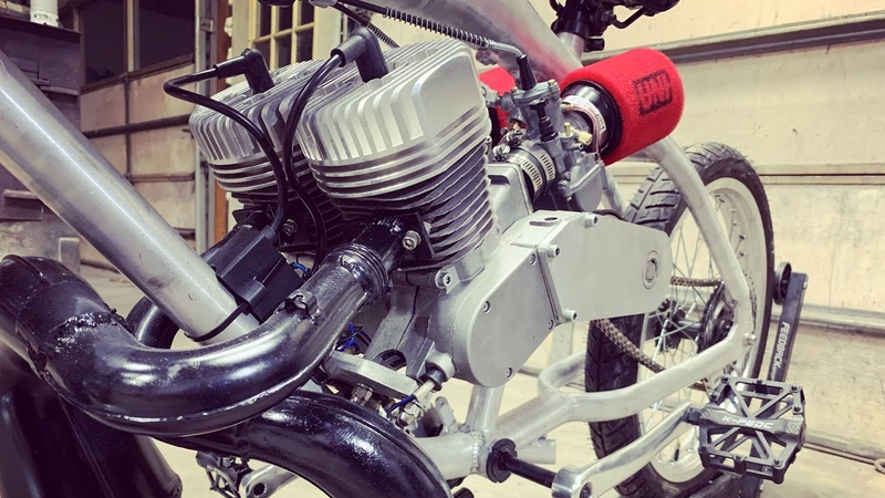 Twin Engine Motorized Bicycle Update
