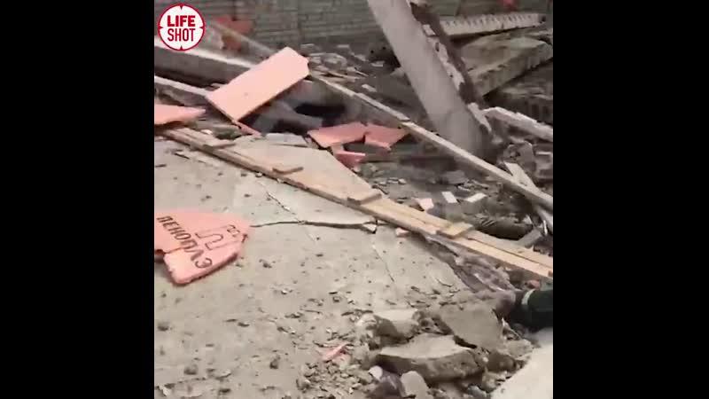 Четверо рабочих погибли при обрушении стены строящегося ТЦ в городе Зуевка Кировской области