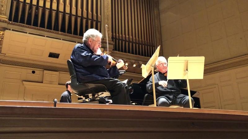 Perlman Zukerman Shostakovich Three Duets for Two Violins Piano Opus 97d