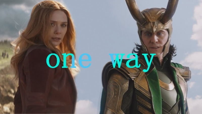Scarlet witch and god of mischief au