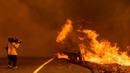 В охваченной пожарами Калифорнии насчитали 11 тыс ударов молний за 3 дня