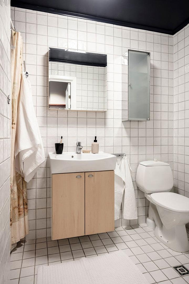 Пастельные стены и светлая мебель: воздушная квартира в Гётеборге || 02