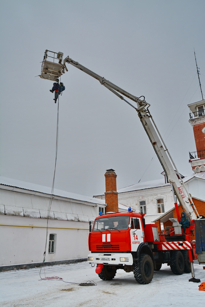 В Коврове прошел день открытых дверей посвященный 116-летнему дню рождения пожарного депо., изображение №3