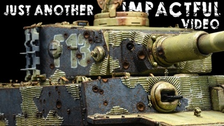 Let's Paint Some Shell Impacts And Other Cool Effects! | Tiger 1 Gruppe Fehrmann | RFM 1/35