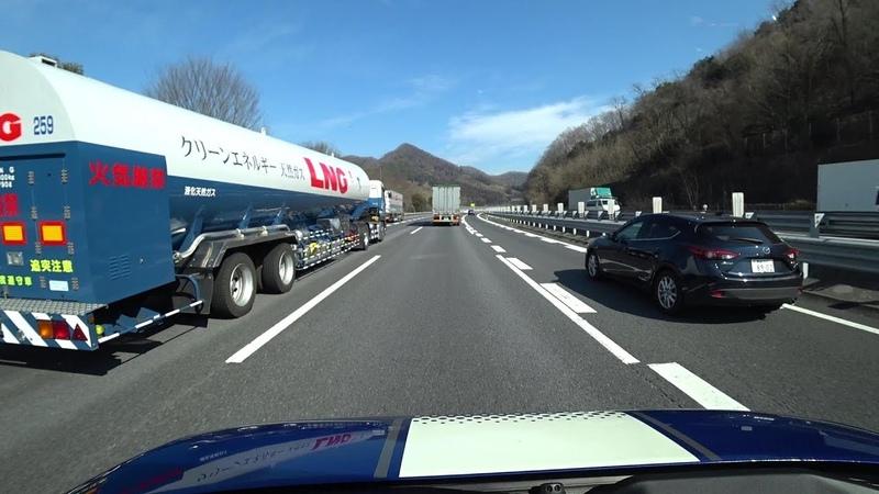 Japanese Highway Driving the Tōhoku Expressway Kawaguchi JCT to Kōriyama JCT
