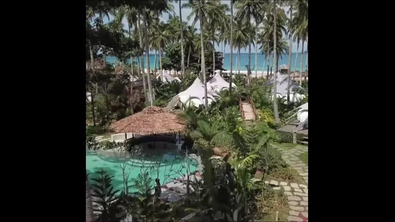 Пляж Накпан Эль Нидо Палаван, Филиппины