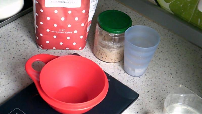 Приготовление опары из Левито Мадре и других заквасок