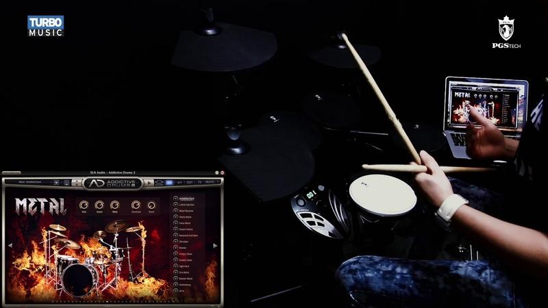PGS TECH SKD 120 I Como conectar o módulo no computador Addictive Drums
