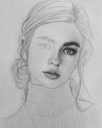drawings of people - 735×894