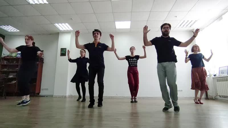 Соло хореография автор Claudia Fonte и Clara Martinez Grau Преподаватель Михаил Алдыгебченко Swing Time Omsk
