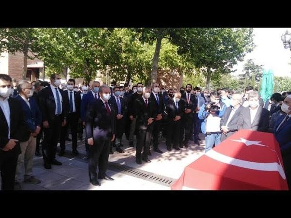 Refah Partisi Eski Genel Başkanı Ahmet Tekdalın Cenaze Namazı