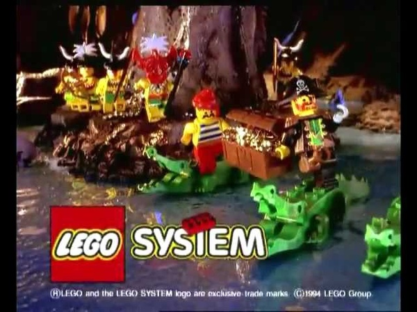 Lego Pirates 1994 Islanders Commercial