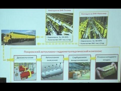 Золото и технологии Переработка упорных руд Рентабельность