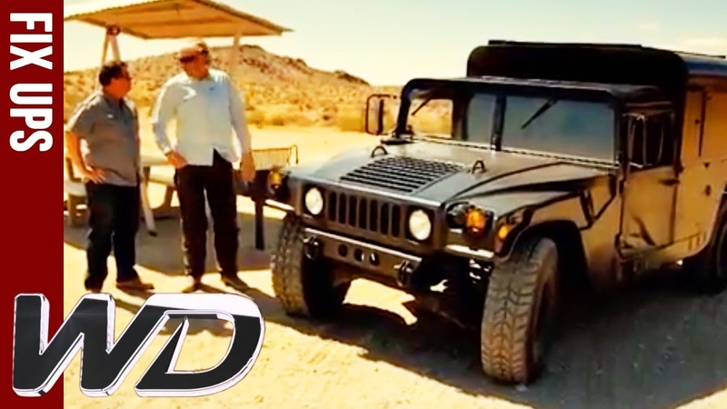 Edd Completely Transforms This Humvee Wheeler Dealers