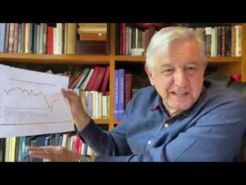 Andr s Manuel López Obrador Informe sobre la econom a en M xico 1 Agosto 2020