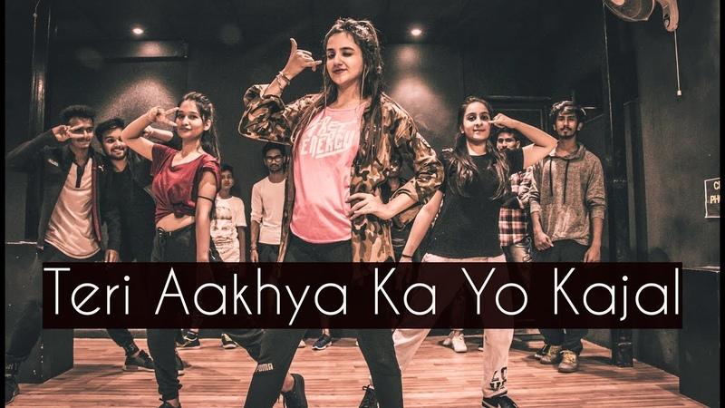Teri Aakhya Ka Yo Kajal ONE TAKE Tejas Dhoke Choreography Dancefit Live