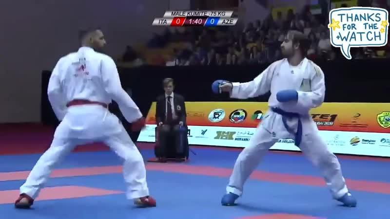 Rafael Aghayev AZE vs Luigi Busa ITA Final 75kg K1 Dubai 2020