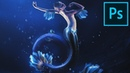 Create a Magical Mermaid Illustration in Photoshop