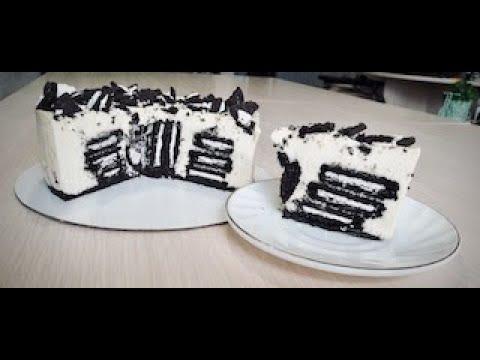 Массовый торт ОРЕО БЕЗ ВЫПЕЧКИ Mousse cake OREO NO OVEN