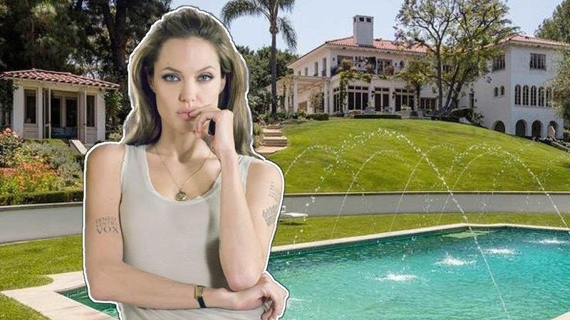 Как Живет Анджелина Джоли и Сколько Она Зарабатывает