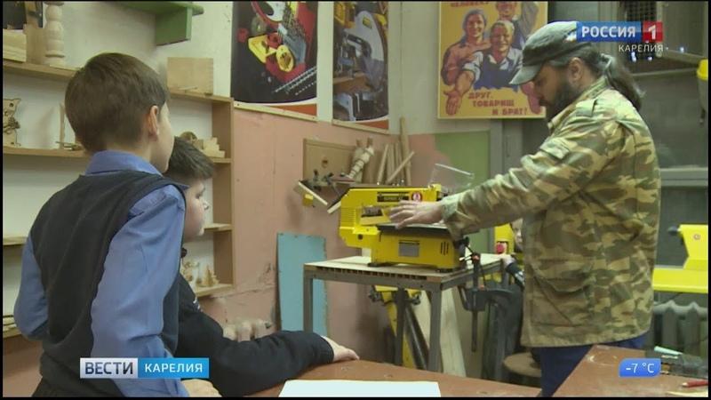 Одинокие и многодетные отцы в Пряже открыли ремесленные мастерские