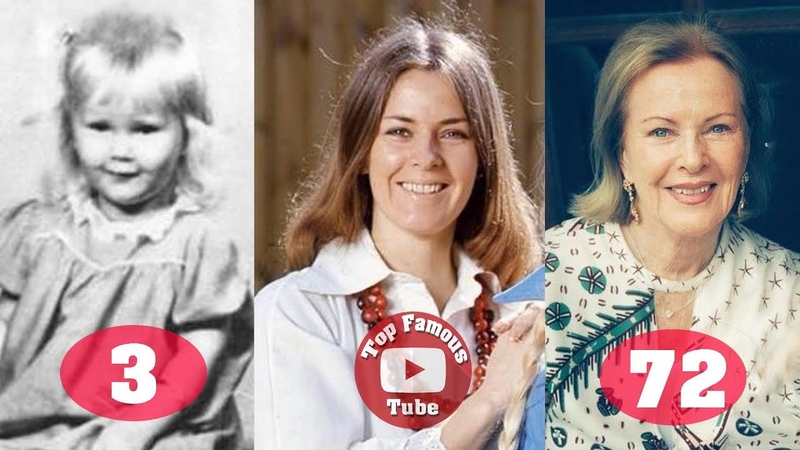 Anni Frid Lyngstad ABBA Transformation From 3 To 72 Years Old