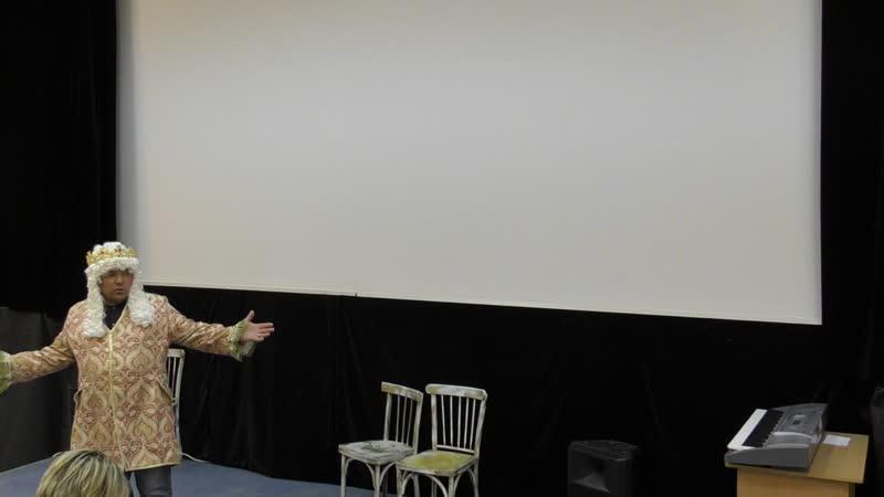 Юмористическая сценка по мотивам спектакля Туфелька для Золушки исп. Евгений Бычков и Ирина Курникова