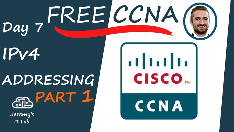 Free CCNA IPv4 Addressing Part 1 Day 7 Complete Course