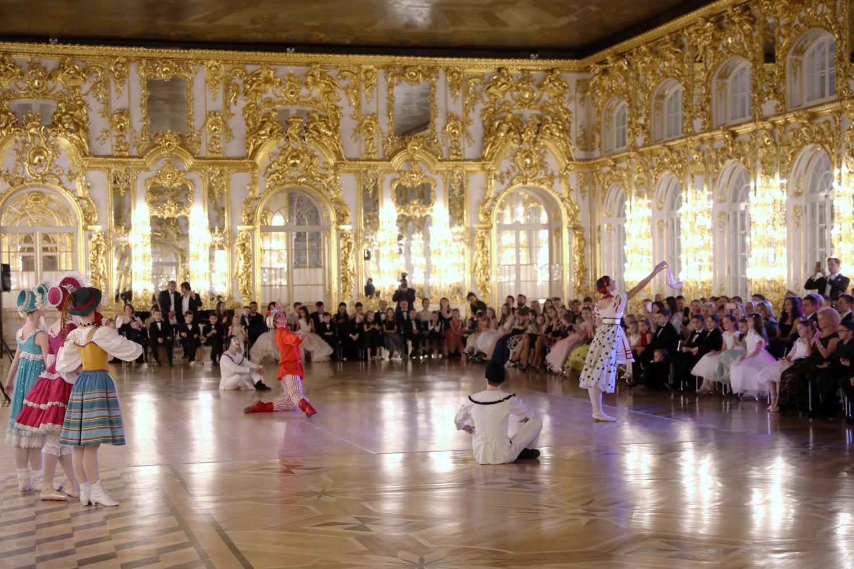 Бал в Екатерининском дворце