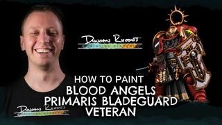 How to Paint: Blood Angels Primaris Bladeguard Veteran
