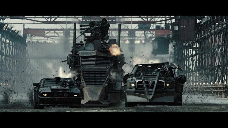 Дженсен и Джо против грузовика Джаггернаута Смертельная гонка