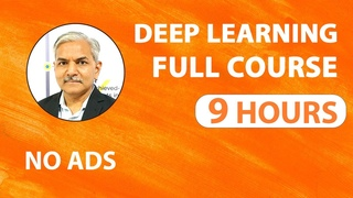 Deep learning Tutorial Deep learning Full Course 2020 Complete Deep Learning for Beginners