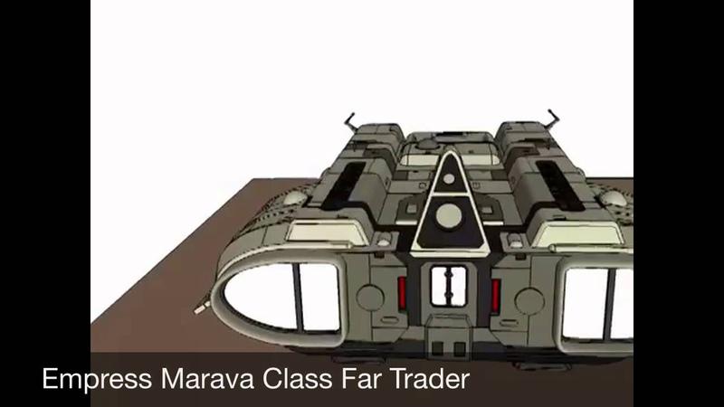 Traveller Spacecraft