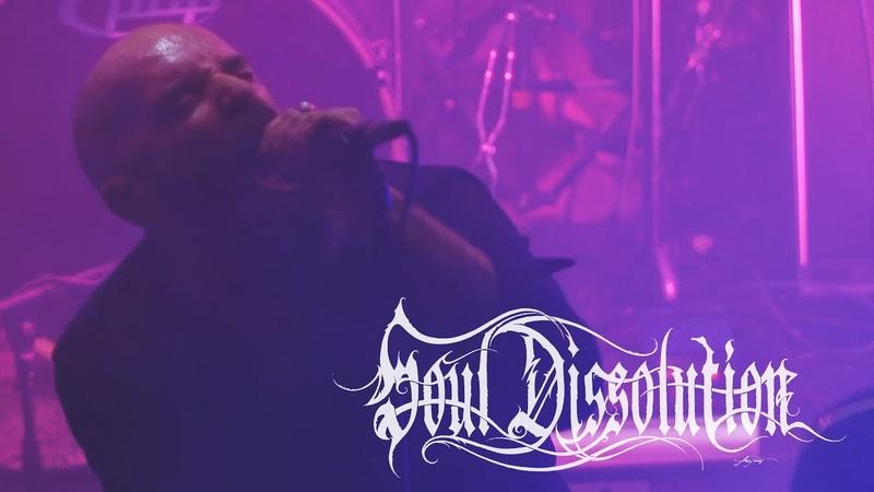 SOUL DISSOLUTION FADING DARKNESS live in Athens 4K Atmospheric Post Black Metal Belgium