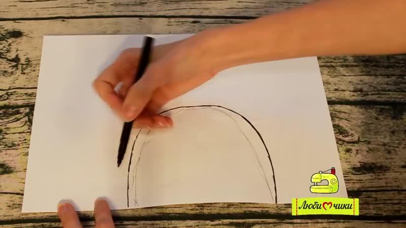 Как сшить детские тапочки пинетки моксы Любимчики