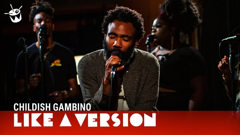 Childish Gambino covers Chris Gaines Lost In You for Like A Version