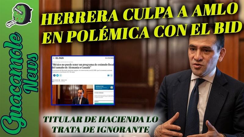 Arturo Hererra confiesa que sí sabía de la trampa del BID y empresarios pero culpa al Presidente