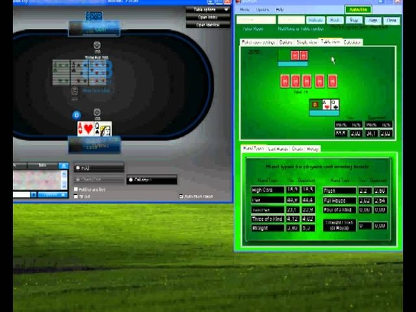 Poker bot Boker at No Limit Heads Up on